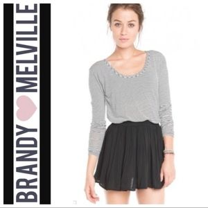 Black Brandy Melville Mini Skirt